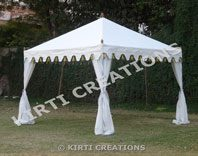 Artistic Party Tent