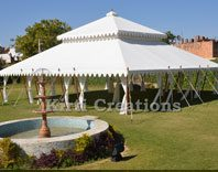 Traditional Wedding Tent